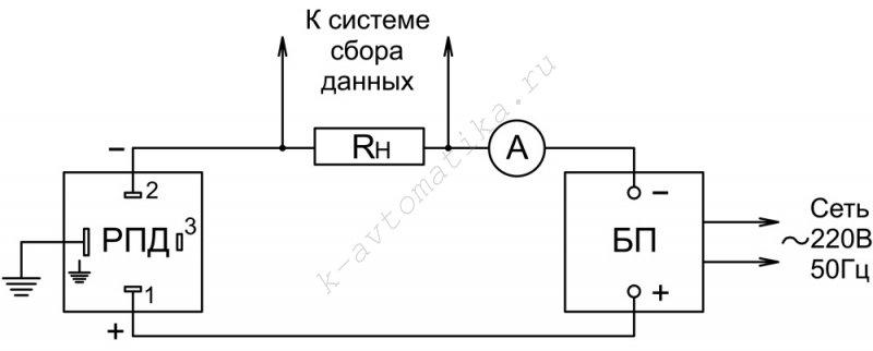 RPD схема подключения